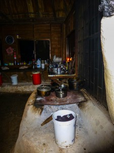 Martz Farm  Kochstelle