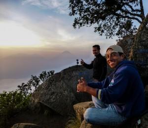 Vulkan San Pedro, mit unserem Guide