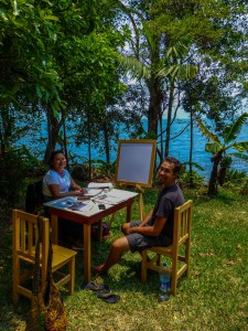 Spanisch lernen am Lago de Atitlan