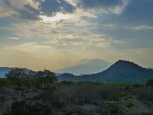 Aussicht von Vulkan Telica