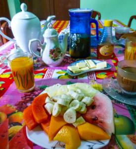 Frühstück im Casa
