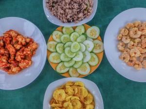Leckeres Essen in Cuba