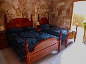 unser Zimmer in Trinidad