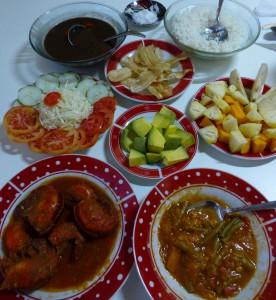 Abendessen im Casa