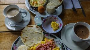 Typisches Frühstück in Salento