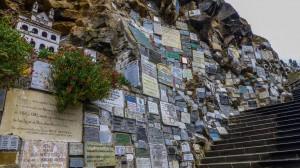 Ipiales - Las Lajas Kirche - Gebetstafeln