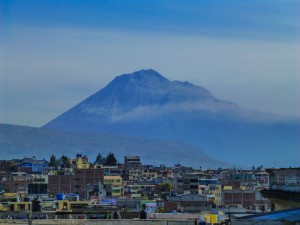 "Aussicht von Riobamba ""Tungurahua"""