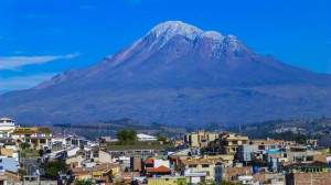 "Aussicht von Riobamba ""Chimborazo"""