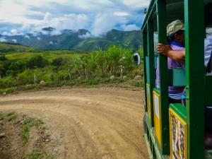 """Fahrt zur Grenze """"Peru"""""""