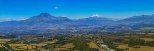 Aussicht von Laguna de Cuicocha