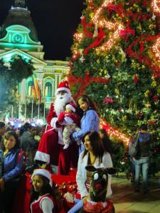 La Paz - Weihnachtsstimmung