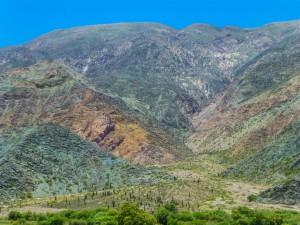 Fahrt von Tilcara nach Salta
