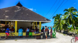 Maupiti - Markt