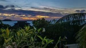 Bora Bora - Aussicht vom Zimmer