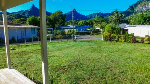 Rarotonga - Aussicht von unserer Veranda