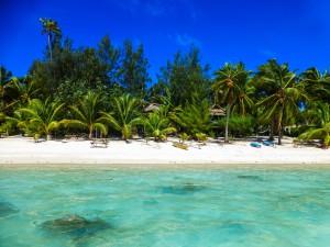 Aitutaki - unser Strand für eine Woche