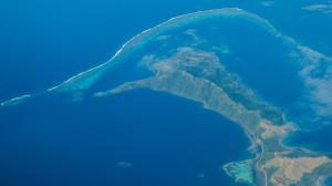Die Lau Inseln (Flug nach Tonga)