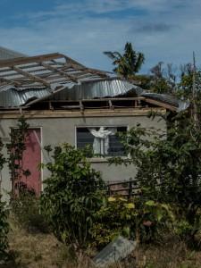 Schäden des Zyklon 2014