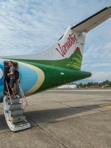 Weiterflug nach Neukaledonien