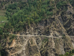 Dhunche 2030 m - Erdbeben 25. April 2015