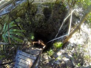 Eingang in eine Cenote