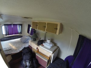 Unser Caravan in Bacalar