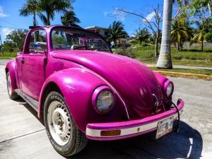 Typisches Fahrzeug in Mexiko